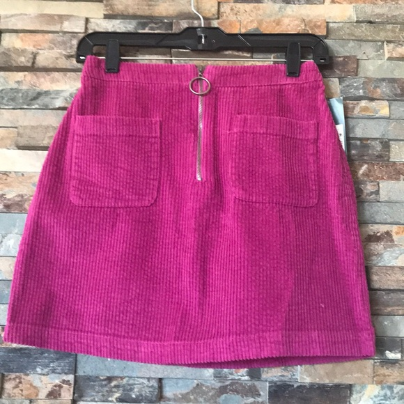 4a3e3fe8709 NWT corduroy mini skirt 💕. NWT. wild fable